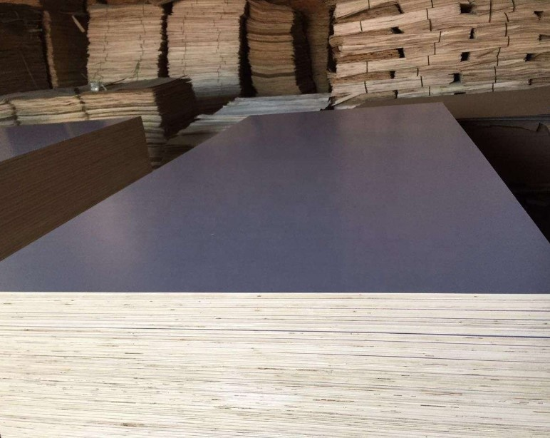 Plywood laminated