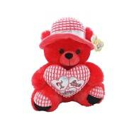 OEM/ODM accepetable interior decorative valentine plush teddy bears