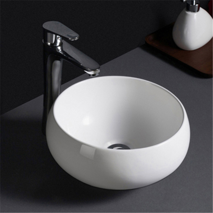 595 China supplier cheap prices bowl shape ceramic round wash basin