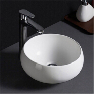595 China supplier cheap prices bowl shape ceramic round wash basin