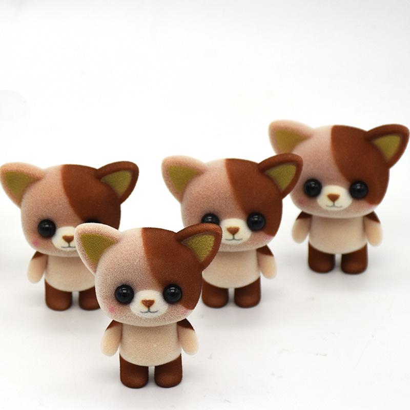 Factory Super Soft Fabric Animal Cat Stuffed Custom Toys
