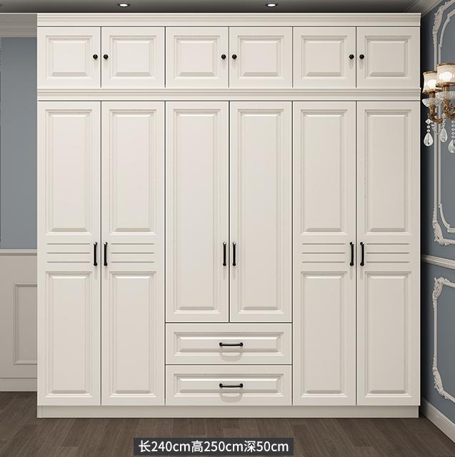 Simple Design Bedroom Wooden Wardrobe HA-PW024-005