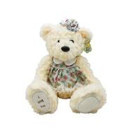 Customized 30cm cute plush stuffed animal teddy bears with floral skirt