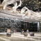 Customizable luxury hotel lobby glass cristal Modern large chandelier pendant lamp