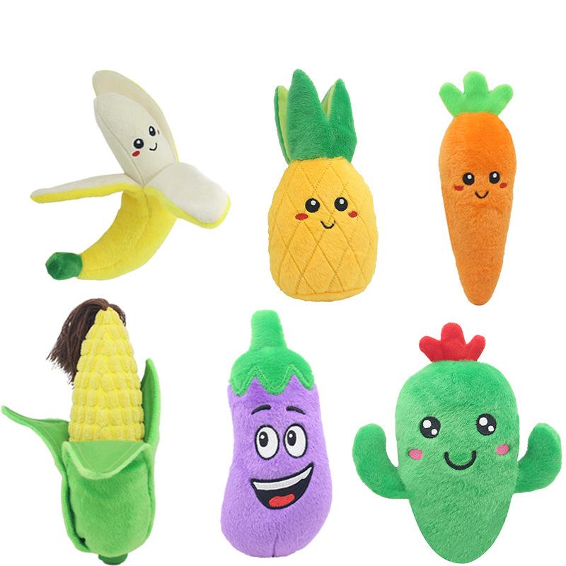 2020 Hot Sale Plush Toy Cactus Banana Carrot Eggplant