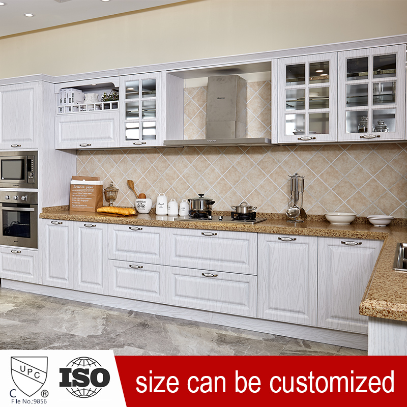 W1 High Gloss Stainless Steel Kitchen Cabinet Sets