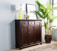 beautiful american black walnut colour shoes rack organizer space saver