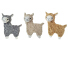 2-in-1 Interactive Alpaca Toys for Chewers