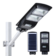 Energy saving 40w 60w 90w 120w 150w ip65 outdoor waterproof all in one led solar road lamp price