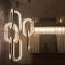 Hotel Customized Flower Design LED Light Chandelier Lighting