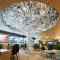 Factory direct sale hotel lobby custom indoor decoration luxury modern pendant light