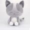 custom stuffed cute cat plush toy
