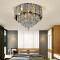 Good quality energy saving customizable modern crystal stainless steel luxury led chandelier lamp