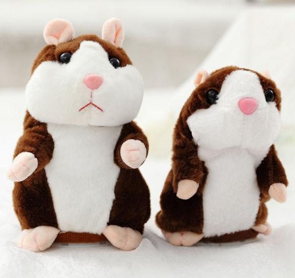 custom stuffed talking hamster plush toy