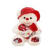 Custom super soft valentine birthday plush teddy bear toys