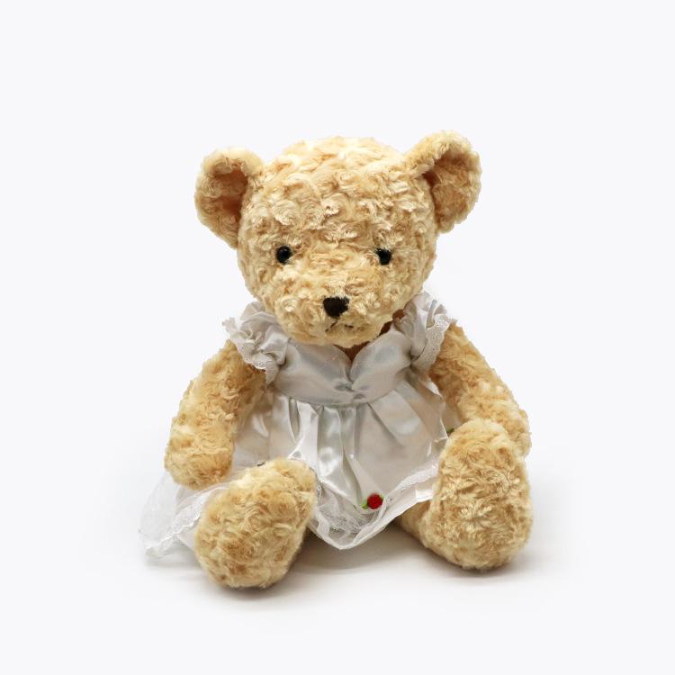 Custom plush toy Cute plush teddy bear with skirt