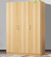 Low Price Particleboard Wardrobe HA-PW024-003