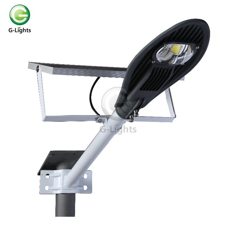 Outdoor lighting IP65 waterproof aluminum housing 10w 20w 30w solar led street light