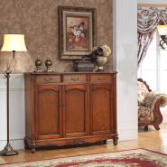 european living room furniture three doors wooden shoe slots