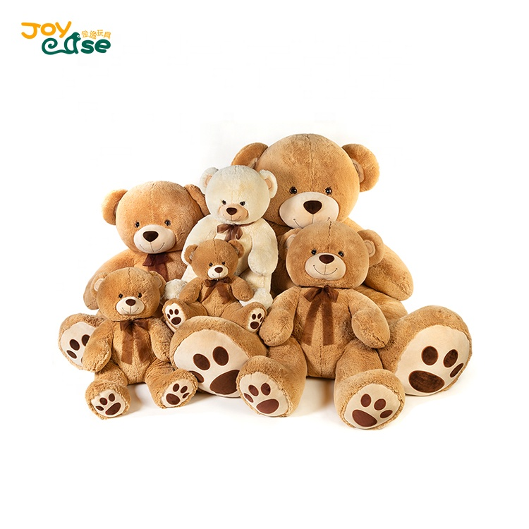 Custom super soft plush animal toy lovey plush teddy bear for kids
