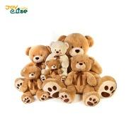 Custom super soft plush animal toy lovey plush teddy bear for kids