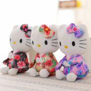 Amazing Plush Rabbit with Kimono Stuffed Animal Plush Toys