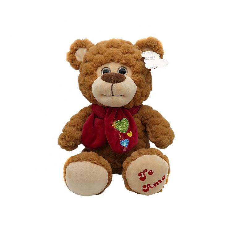 Comfortable fabric cute soft stuffed animal teddy bear plush toys