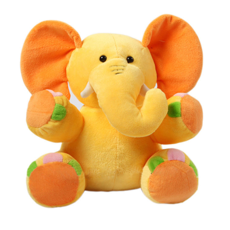 Custom New Design Funny Elephant Plush Animal Stuffed Toys