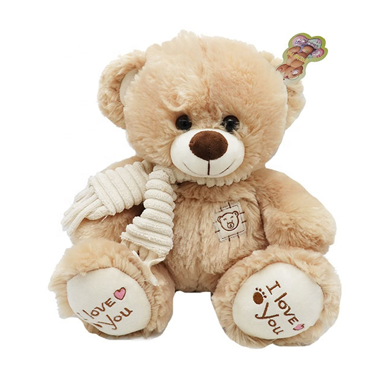 Skin-friendly and comfortable 30 cm plush teddy bear toys