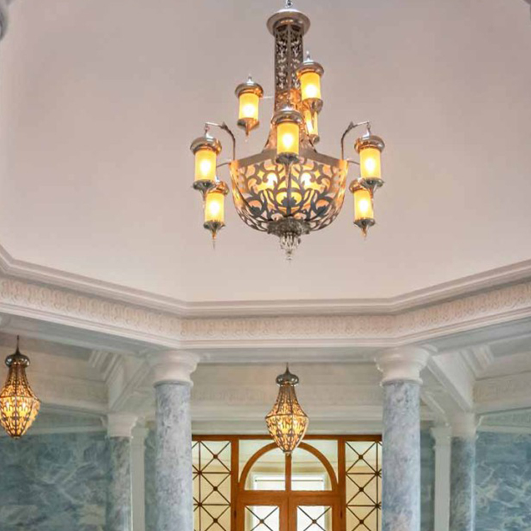 Energy saving hight quality Restoring ancient ways household hotel classic chandelier
