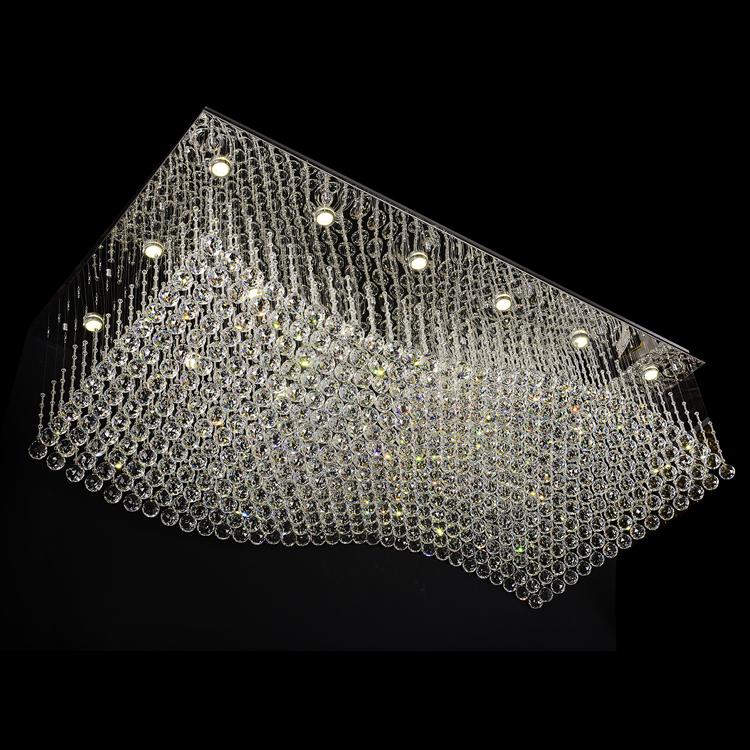 Large golden hotel lobby decorative european luxury crystal chandelier lighting