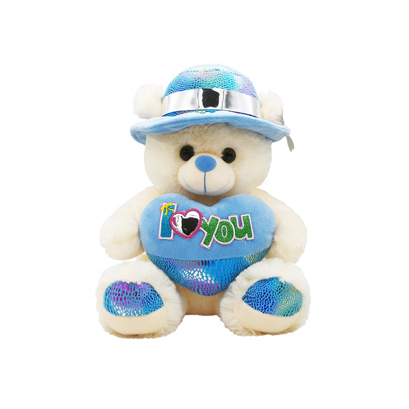 Customized sizes cute stuffed plush teddy animal bear toy