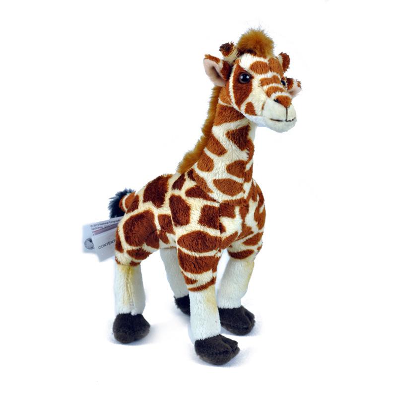 Good quality custom simulation animal plush toy giraffe plush toy