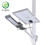 Bridgelux smd ip65 aluminum waterproof outdoor 30 60 100 w solar led street light