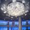 Modern design customizable luxury hotel lobby indoor decoration big project chandelier
