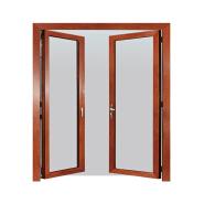 Sunnyquick security aluminum glass double swing doors aluminium interior casement door office house