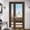 Sunnyquick commercial system aluminum glass swing doors profile aluminium security casement door