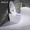 SALA Full Automatic strong flushing toilet bathroom building material toilet bidet water system toilet