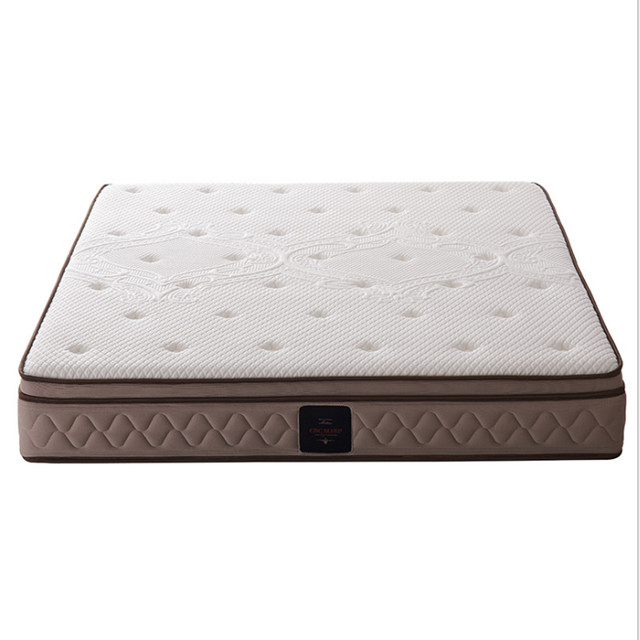 5 start hotel luxury memory foam pocket spring mattress with vacuum compressed packing