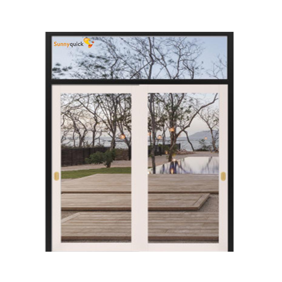 Sunnyquick aluminum glass double swing doors price Philippines aluminium casement door exterior
