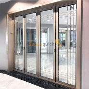 Sunnyquick hurricane impactaluminum glass slide and fold door profile for aluminium folding doors modern