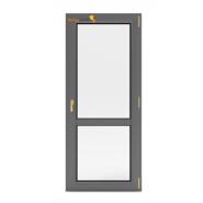 Sunnyquick aluminum glass swing doors used aluminium casement door for hotels sale