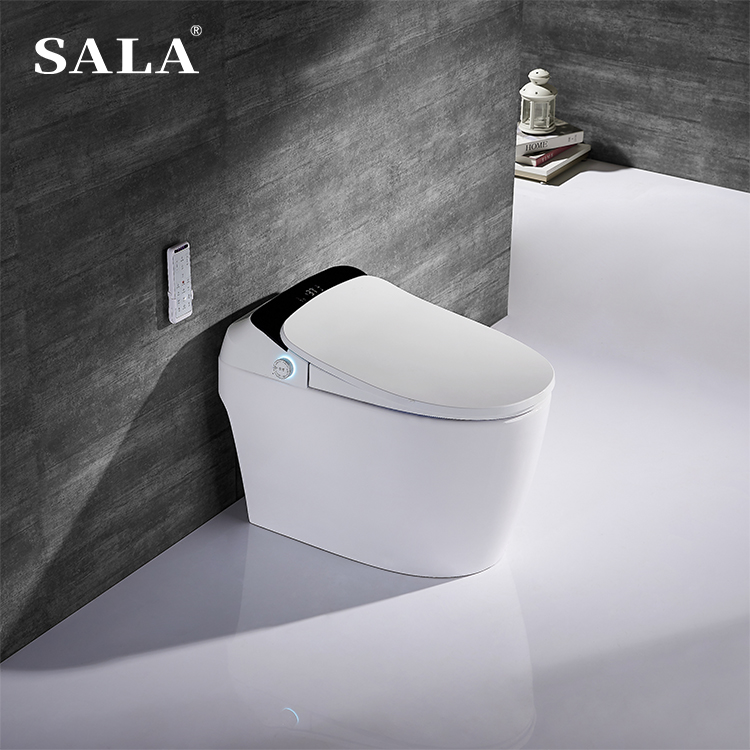 SALA Wholesale price sanitary ware luxury wc toilet with smart toilet cover