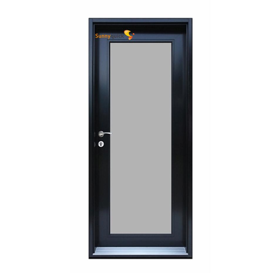 Sunnyquick aluminum glass swing doors price aluminium casement door bathroom bedroom modern