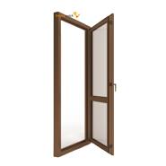 Sunnyquick security aluminum glass swing doors interior aluminium casement door bathroom bedroom main