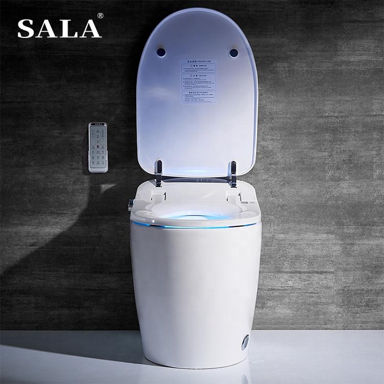 China Toilet Manufacturers Bathroom Toliet Seat Ceramic Material Toilet Intelligent