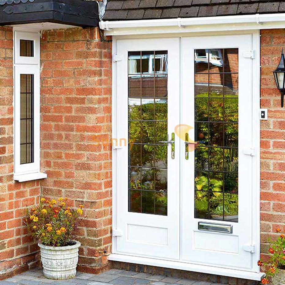 Sunnyquick aluminum glass double swing doors Philippines price and design aluminium apartment casement door
