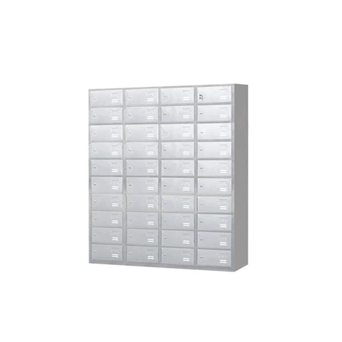 Stainless Steel Six Door Cabinet Locker