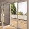 Sunnyquick security aluminum glass swing doors internal aluminium profile for casement door house grill design Product Name: Aluminium glass casement windows Brand: Sunnyquick Open Style: Swing Glass: