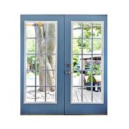 Sunnyquick security aluminum glass swing doors internal aluminium profile for casement door house grill design